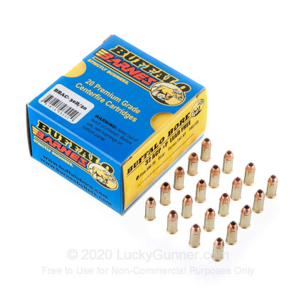 Image 3 of Buffalo Bore .32 Auto (ACP) Ammo