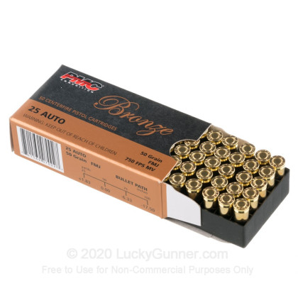 Image 3 of PMC .25 Auto (ACP) Ammo