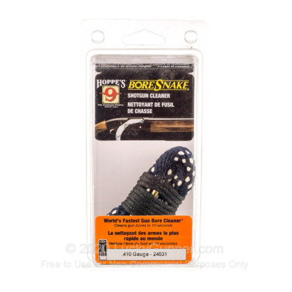 Large image of Hoppe's BoreSnakes for Sale - 410 Bore - Hoppe's BoreSnake For Sale