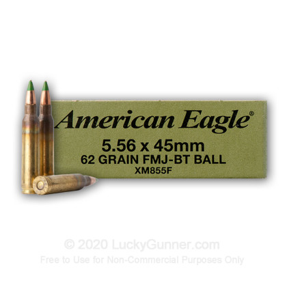 Image 1 of Lake City 5.56x45mm Ammo