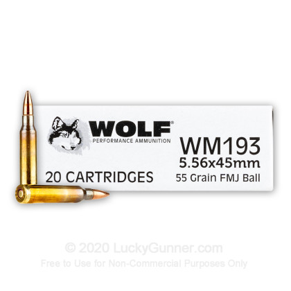 Image 2 of Wolf 5.56x45mm Ammo