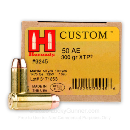 Image 1 of Hornady .50 Action Express Ammo