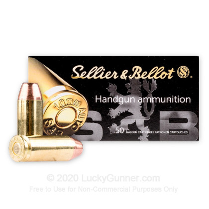 Image 2 of Sellier & Bellot 10mm Auto Ammo