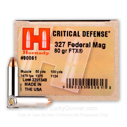 Image 1 of Hornady .327 Federal Magnum Ammo