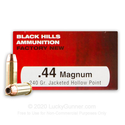 Image 1 of Black Hills Ammunition .44 Magnum Ammo