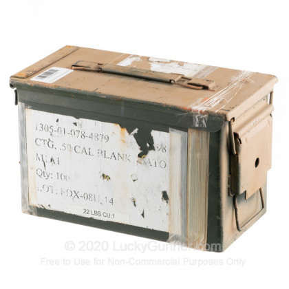 Large image of 50 Cal M2A1 Green Used Mil-Spec Ammo Cans For Sale