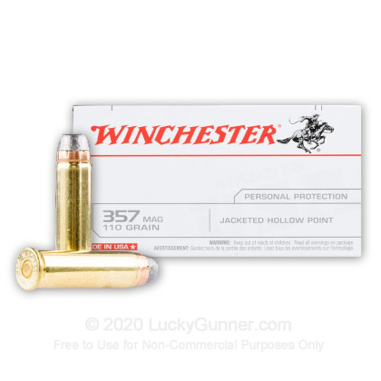 Image 1 of Winchester .357 Magnum Ammo