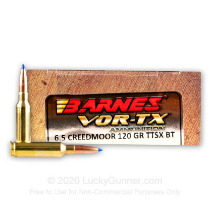 Image 1 of Barnes 6.5mm Creedmoor Ammo
