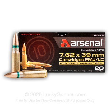 Image 1 of Arsenal 7.62X39 Ammo