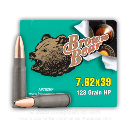 Image 14 of Brown Bear 7.62X39 Ammo