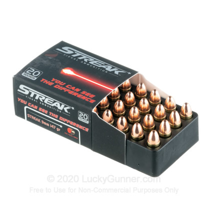 Image 3 of Streak 9mm Luger (9x19) Ammo