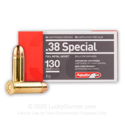 Image 1 of Aguila .38 Special Ammo