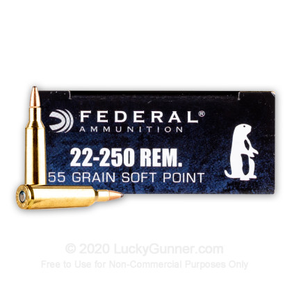 Image 2 of Federal .22-250 Remington Ammo