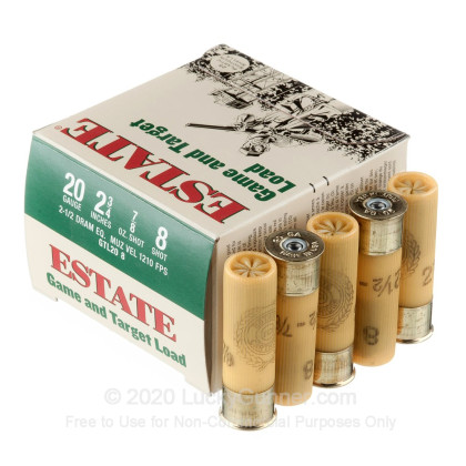 Image 3 of Estate Cartridge 20 Gauge Ammo