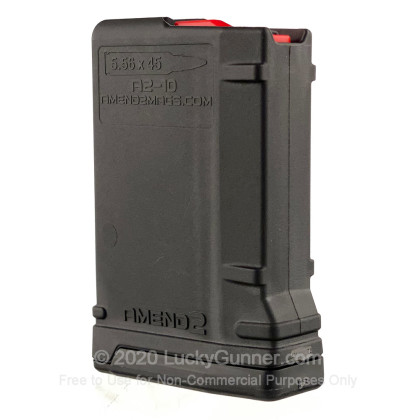 Large image of Amend2 AR-15 10rd - 5.56/223 - Black - MOD-2 Magazine For Sale