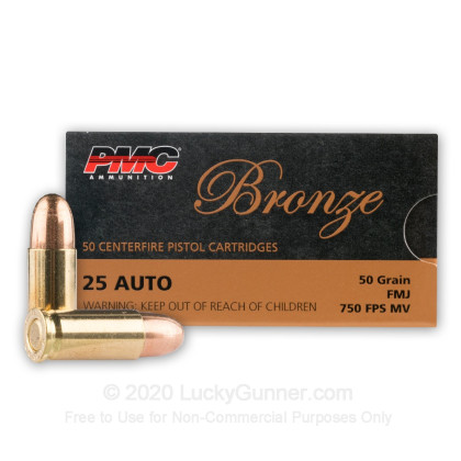 Image 2 of PMC .25 Auto (ACP) Ammo