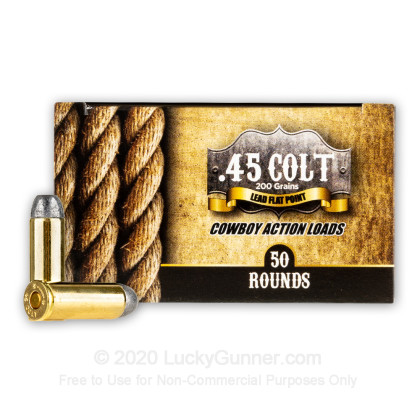 Image 1 of American Cowboy .45 Long Colt Ammo
