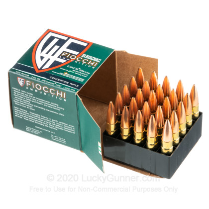 Large image of Cheap 300 AAC Blackout Ammo For Sale - 220 Grain HPBT MatchKing Ammunition in Stock by Fiocchi - 25 Rounds