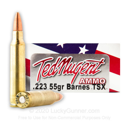 Image 1 of Ted Nugent Ammo .223 Remington Ammo