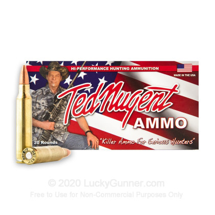 Image 2 of Ted Nugent Ammo .223 Remington Ammo