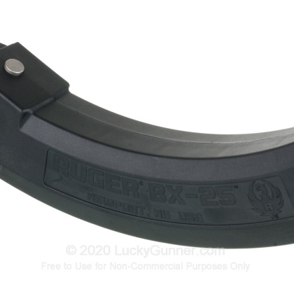 Large image of Factory Ruger 22 LR 10/22 25 Round BX-25 Magazine For Sale - 25 Rounds
