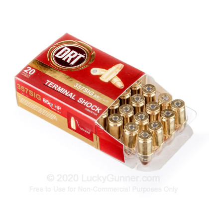 Image 3 of Dynamic Research Technologies .357 Sig Ammo