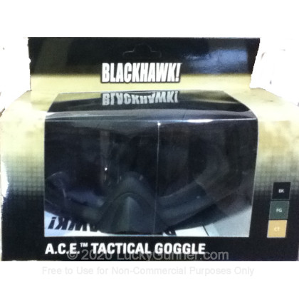 Large image of BlackHawk - Tactical ACE Goggles - Black
