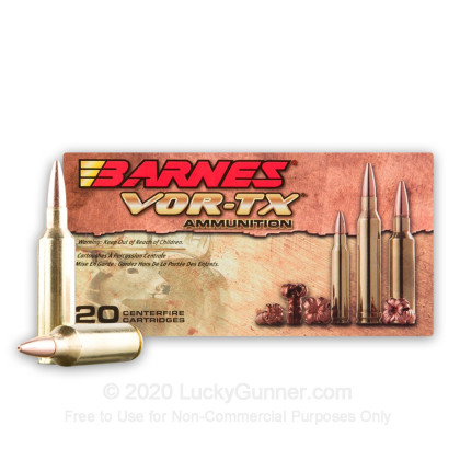 Image 1 of Barnes .270 Winchester Short Magnum Ammo