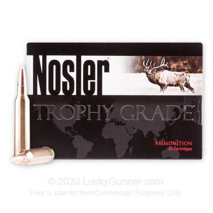 Image 2 of Nosler Ammunition 7mm Remington Magnum Ammo