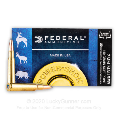 Image 1 of Federal 7x57 Mauser Ammo