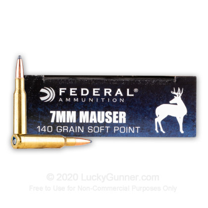 Image 2 of Federal 7x57 Mauser Ammo