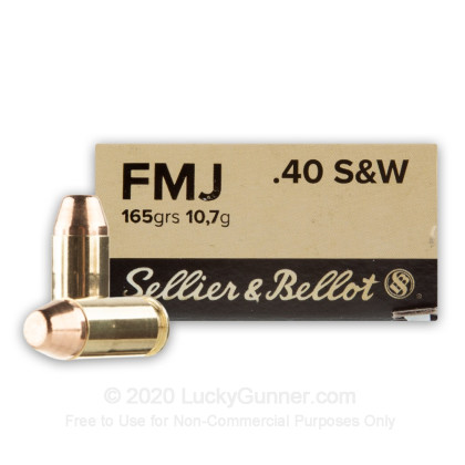 Image 1 of Sellier & Bellot .40 S&W (Smith & Wesson) Ammo