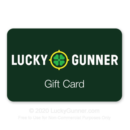 Large image of LuckyGunner $150 Gift Card