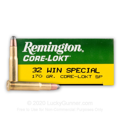 Image 1 of Remington .32 Winchester Special Ammo