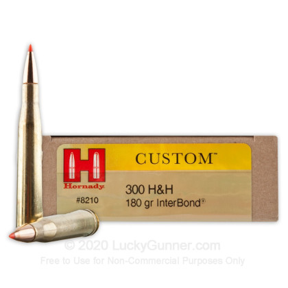Image 1 of Hornady .300 H&H Magnum Ammo