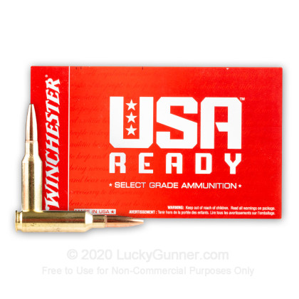 Image 2 of Winchester 6.5mm Creedmoor Ammo