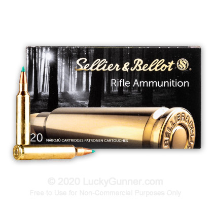Image 2 of Sellier & Bellot .204 Ruger Ammo