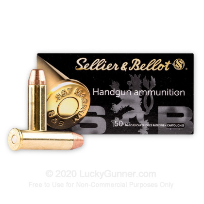 Image 2 of Sellier & Bellot .357 Magnum Ammo