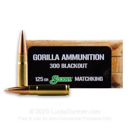 Image 1 of Gorilla Ammunition .300 Blackout Ammo