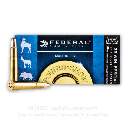 Image 2 of Federal .32 Winchester Special Ammo