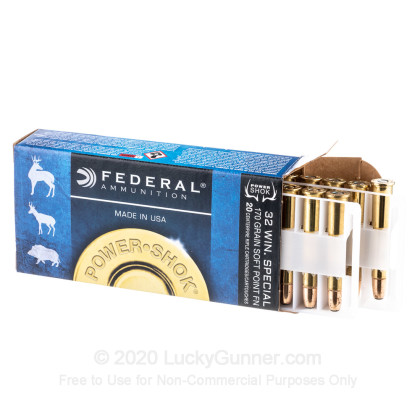 Image 3 of Federal .32 Winchester Special Ammo