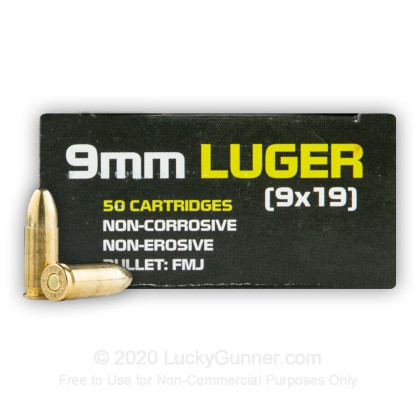 Image 2 of Sumbro 9mm Luger (9x19) Ammo