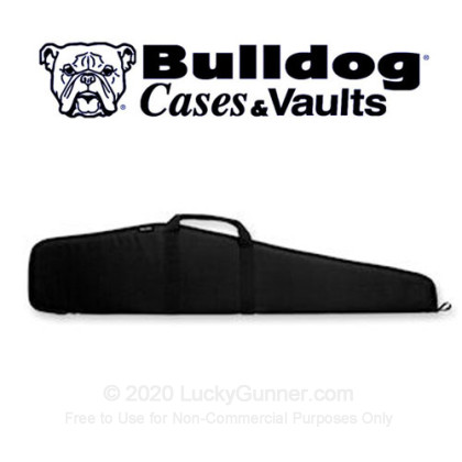 Large image of Bulldog Pit Bull - Black Scoped Rifle Case For Sale