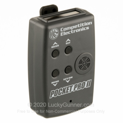 Large image of Premium Shot Timer For Sale - Pocket Pro II in Stock by Competition Electronics - Gray