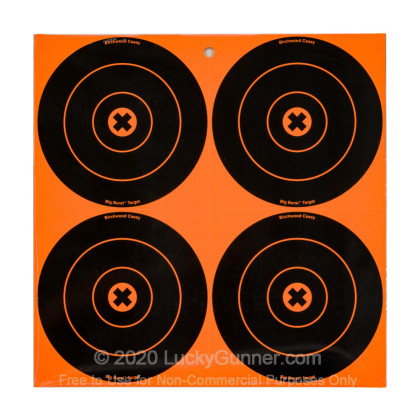 "Large image of Big Burst Targets For Sale - 12 - 6"" Targets - Birchwood Casey Targets For Sale"