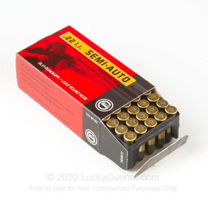 Image 3 of GECO .22 Long Rifle (LR) Ammo