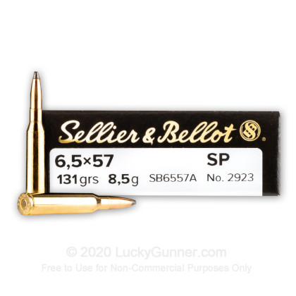 Image 1 of Sellier & Bellot 6.5x57 Mauser Ammo
