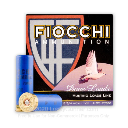 Large image of Bulk 16 Ga Fiocchi #8 Game & Target Ammo For Sale - Fiocchi Premium 16 Ga Shells - 250 Rounds