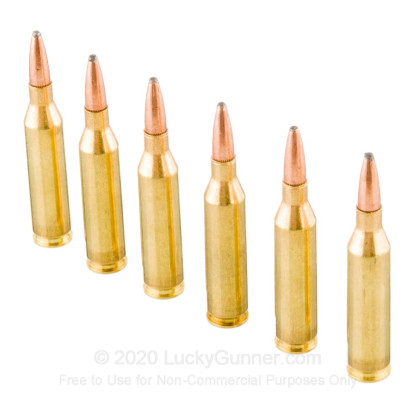 Large image of Bulk 243 Ammo For Sale - 100 Grain PSP Ammunition in Stock by Remington Coke-Lokt - 200 Rounds