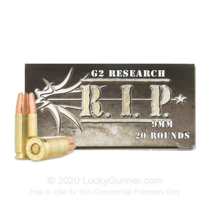 Image 1 of G2 Research 9mm Luger (9x19) Ammo